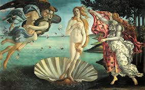 Birth of Venus by Sandro Botticelli 1489