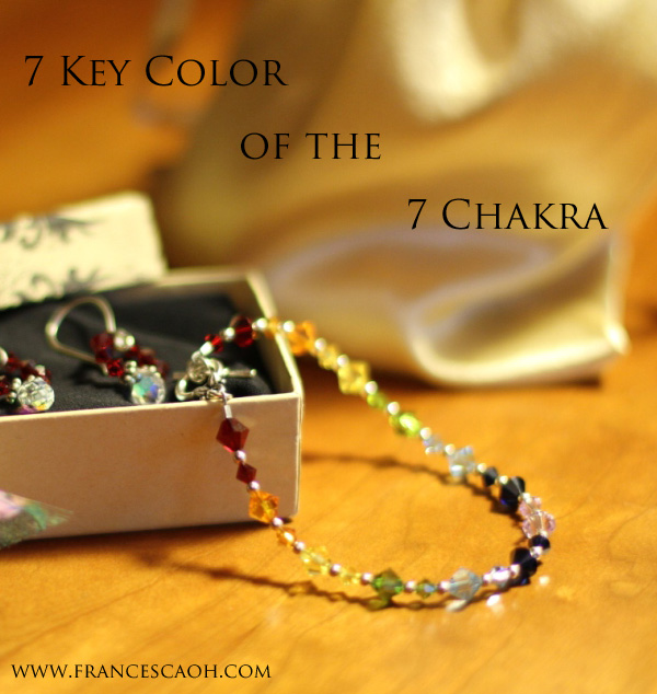 7 Key Colors of the 7 Chakras